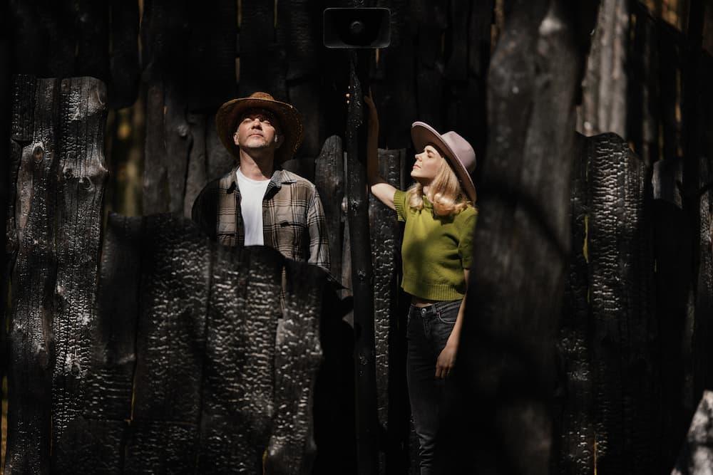 Jolita Vaitkutė ir Andrius Mamontovas . Projektas Anglies miškas.